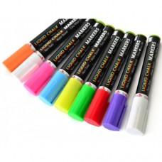 Крейдяний маркер SANTI, 9 кольорів