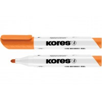 Маркер для білих дошок Kores 2-3мм помаранчевий (К20834)