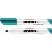 Маркер для білих дошок Kores 2-3мм бірюзовий (К20839)
