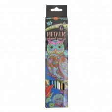 Олівці металізовані 6 кольорів