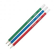 Олівець графітовий з гумкою