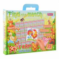 "Набір для творчості ""Find the match"" ""Farm Animals"""