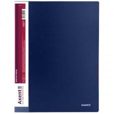 Дисплей-книга 10 файлів, синя