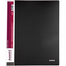 Дисплей-книга 20 файлів, чорна