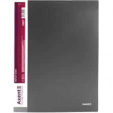 Дисплей-книга 20 файлів, сіра