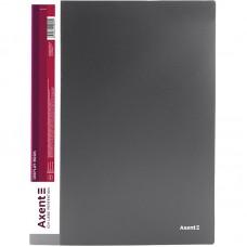 Дисплей-книга 30 файлів, сіра