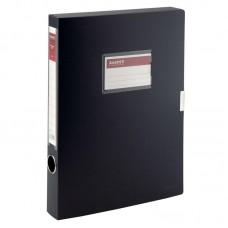 Папка-коробка 36 мм, чорна
