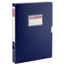 Папка-коробка 36 мм, синя
