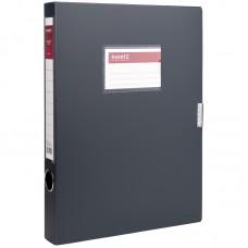 Папка-коробка 36 мм, сіра
