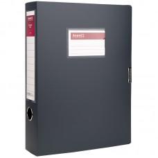 Папка-коробка 60 мм, сіра