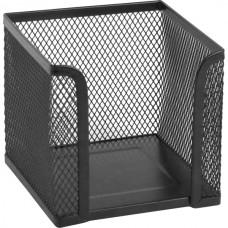 Куб для паперу 100х100x100мм, металевий, чорний
