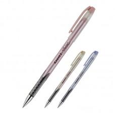 Ручка масляна Shine, синя