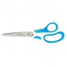 Ножиці Shell, 18 см, біло-блакитні