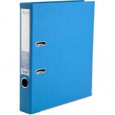 Папка-реєстратор двост, Prestige+ 5cм, зіб, блакитна