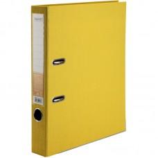 Папка-реєстратор двост, Prestige+ 5cм, зіб, жовта