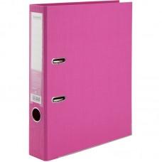 Папка-реєстратор двост, Prestige+ 5cм, зіб, рожева