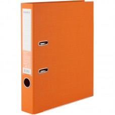 Папка-реєстратор двост, Prestige+ 5cм, зіб, помаранчева
