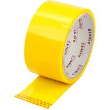 Стрічка клейка пакувальна 48мм*35м, 40 мкм жовта