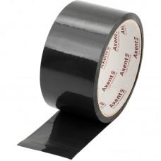 Стрічка клейка пакувальна 48мм*35м, 40 мкм чорна