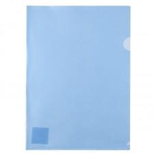 Папка-куточок А4, синя