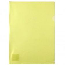 Папка-куточок А4, жовта