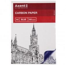 Папір копіювальний A4, 100 арк., синій