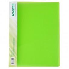 Папка-швидкозшивач А4, прозора зелена