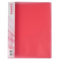 Папка-швидкозшивач А4, прозора червона