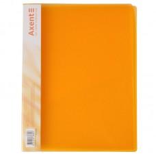 Папка-швидкозшивач А4, прозора помаранч