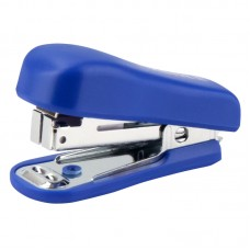 Степлер Standard пласт., №10/5, 12 арк., синій