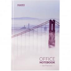 Книга записна А4, 192арк., кліт., San Francisco