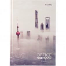 Книга записна А4, 192арк., кліт., Shanghai
