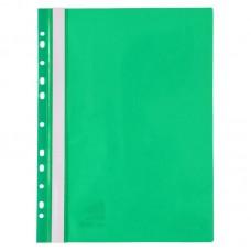 Швидкозшивач з перфорацією А4, зелений