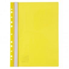 Швидкозшивач з перфорацією А4, жовтий