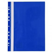 Швидкозшивач з перфорацією А4, синій