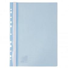 Швидкозшивач з перфорацією А4, світло блакинтний
