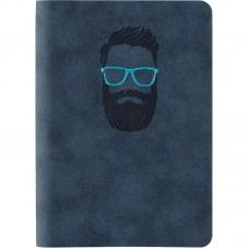 Книга записна Nuba Strong, 115*160, 96 арк., кл., синя
