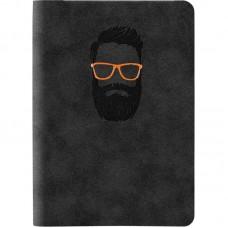 Книга записна Nuba Soft, 115*160, 96 арк., кл., чорна