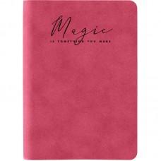 Книга записна Nuba Soft, 115*160, 96 арк., кл., червона