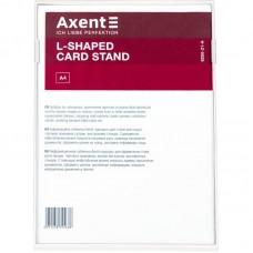 Табличка інформаційна L-подібна, A4, біла