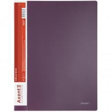 Дисплей-книга 20 файлів, сливова