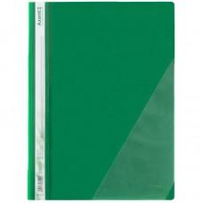 Швидкозшивач з кутовою кишенею, зелений