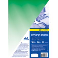 Обкладинка для палітурки зелена по 50 шт. в упаковці BM.0560-04