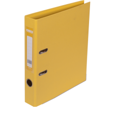 Папка-реєстратор 5см жовта