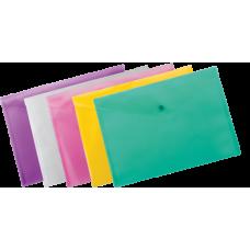 Папка-конверт А4 на кнопці