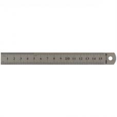 Лінійка сталева 15 см