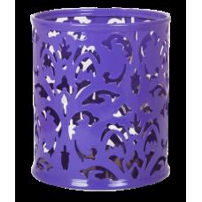 Підставка для ручок BAROCCO металева фіолетова