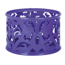 Підставка для скріпок BAROCCO металева фіолетова