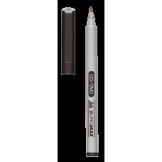 Маркер водостійкий Buromax Jobmax на спиртовій основі 0,6мм чорний (BM.8701-01)