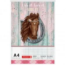 Альбом для малювання Ponylove А4 100 арк. 70 г/м2